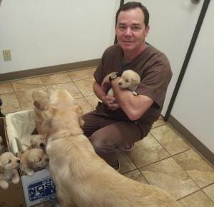Dr. Tim Kennemer at Sunset Vet Clinic in Edmond, OK