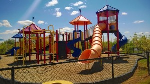 David Stanley Chevrolet dog park in Norman, OK playground