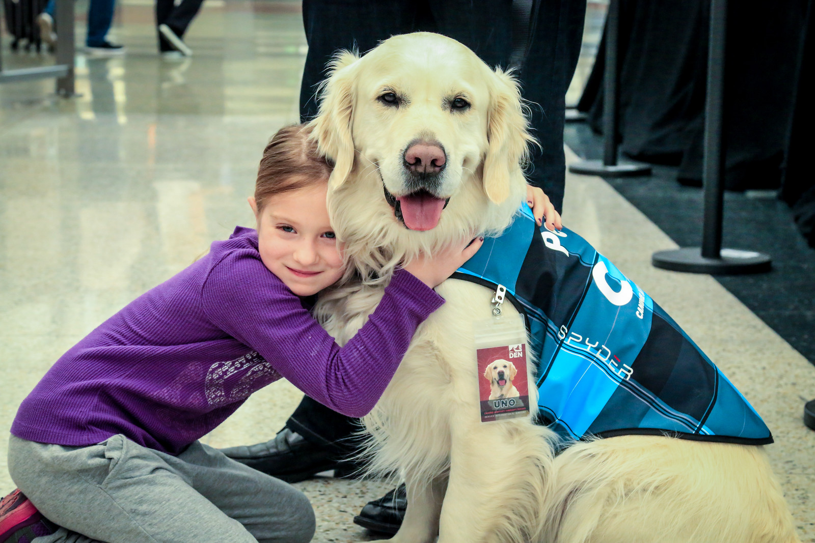 Canine Airport Therapy Squad Program
