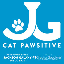 Jackson Galaxy Cat Pawsitive Logo